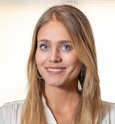 Assistentin der Geschäftsführung Alena Sendzik