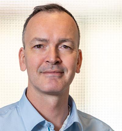 Leiter Kundendienst Sebastian Klamereck